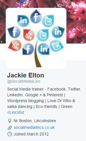 Social Media Lincs Twitter Profile
