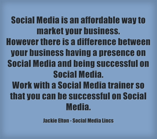 Work with a Social Media trainer