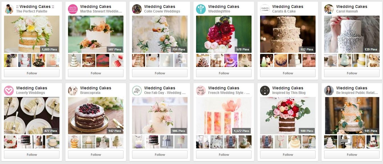 Wedding-cake-boards-on-Pinterest