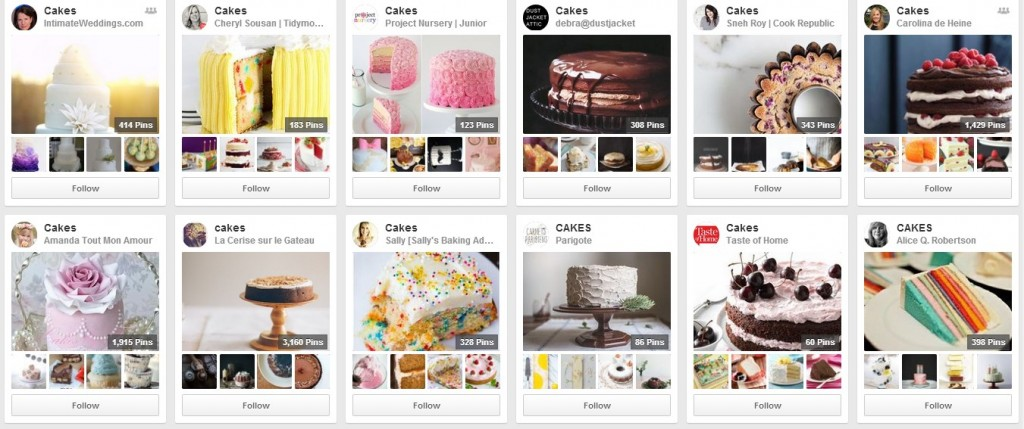 Cake-boards-on-Pinterest