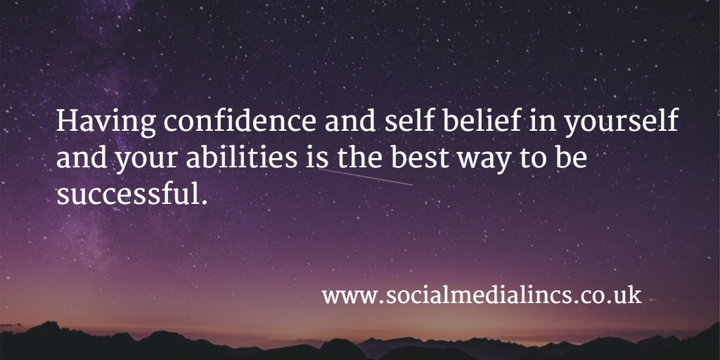 Self belief equals success