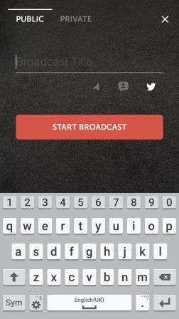 Periscope Live video streaming app | Social Media Lincs