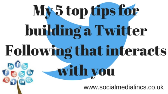 Building an engaged followers on Twitter
