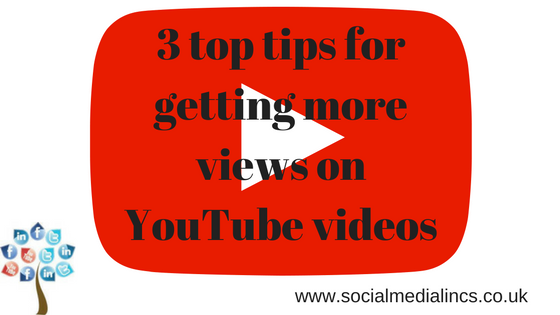 3 top tips for getting more YouTube views